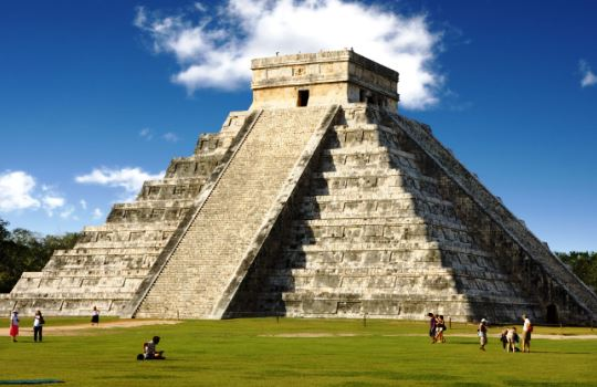 Chichén Itzá Meksiko 7 Keajaiban Dunia Baru