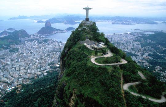 Christ the Redeemer Brazil 7 Keajaiban Dunia Baru