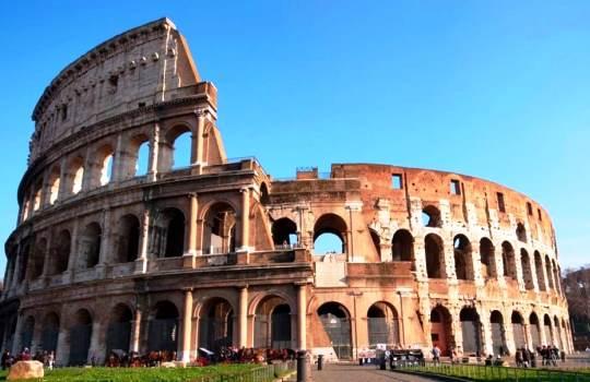 Colosseum Italia 7 Keajaiban Dunia Baru
