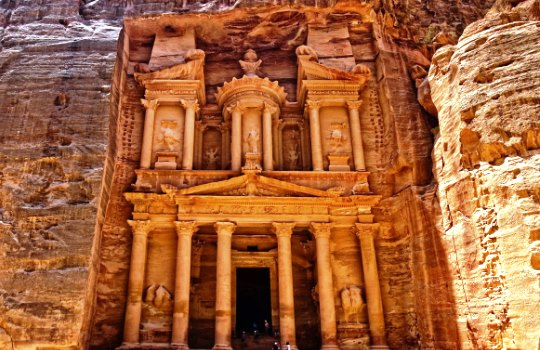Petra Yordania 7 Keajaiban Dunia Baru