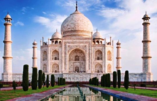 Taj Mahal India 7 Keajaiban Dunia Baru