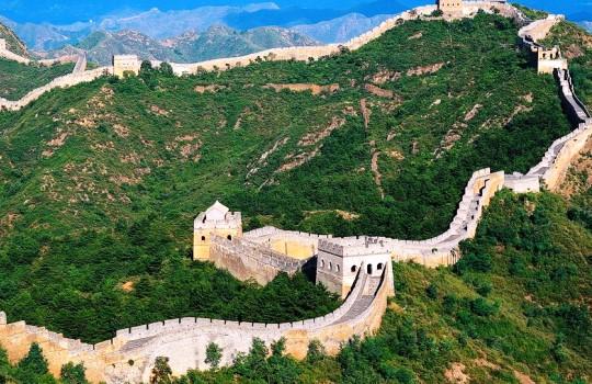 Tembok Raksasa Cina 7 Keajaiban Dunia Baru