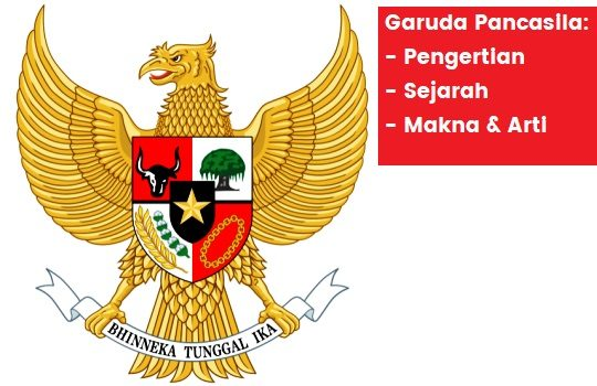 Pengertian Garuda Pancasila Sejarah Makna Arti Lambang Negara Indonesia