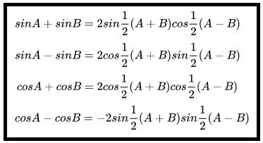 Rumus Jumlah dan Selisih Trigonometri