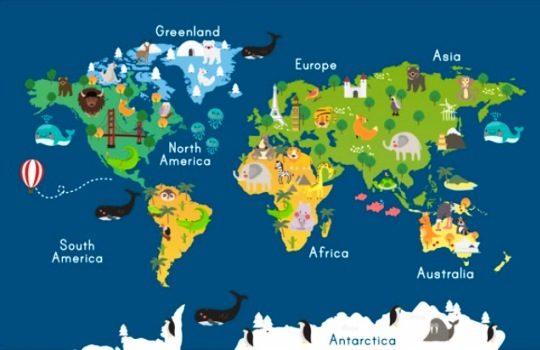 Pengertian Benua Asal Usul Terjadinya Letak Astronomis Batas Geografis Asia Afrika Amerika Utara Amerika Selatan Eropa Australia Antartika