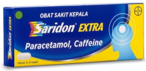 Saridon Extra Obat Sakit Kepala